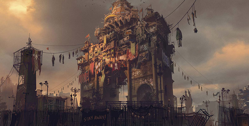 Delve deep into the City with new Dying Light 2 wallpapers