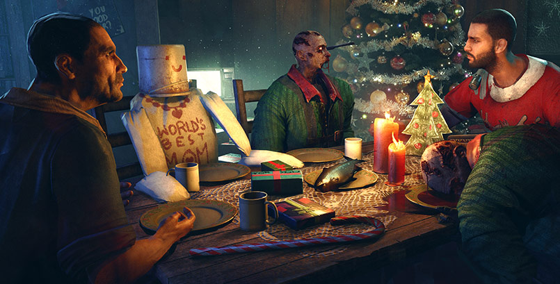 Super-Crane saves Christmas in Dying Light's Winter Event