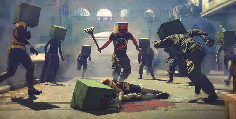 Unturned crossover event is live in Dying Light